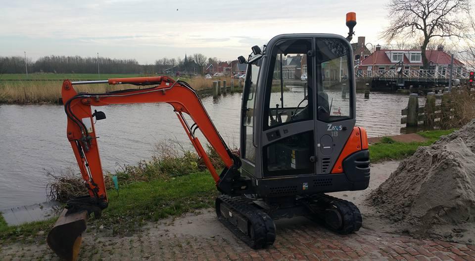 Mini-graver 1800 Kg
