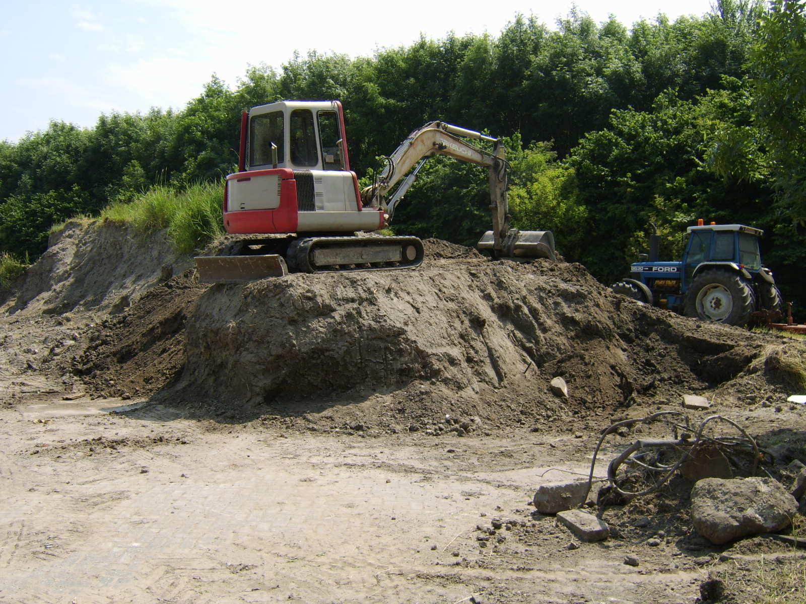 Midi-graver 4.5 ton